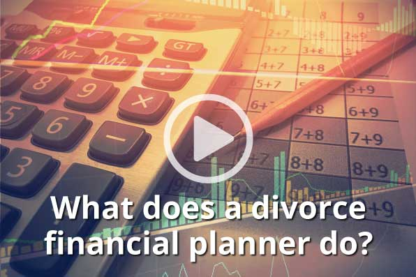 What does divorce financial planning do?